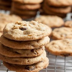 Perfect peanut butter cookies, loaded with dark chocolate chunks, plus lots of crunchy pecans.