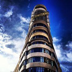Schweppes Pisa, Madrid, Tower, Building, Travel, Rook, Viajes, Computer Case, Buildings