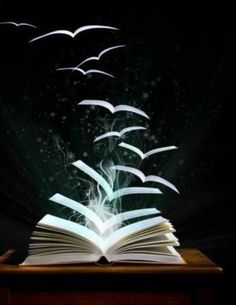 as you read, your mind opens, and words take flight, at Rose cottages and gardens