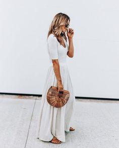 Trendalert: straw bags | Beach bag | Basket bag | Inspo | More on fashionchick.nl