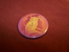 Airbrushed Owl in Burnt Orange  by PortableGraffiti for $1.50
