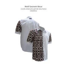 Motif Geometris Besar Diagonal - Sidoluhur cocok untuk pria gemuk dan kurus :)  #kemejabatikmedogh  http://medogh.com/baju-batik-pria/kemeja-batik-pria/Kemeja-Batik-Patriot-Series-Kemeja-Neale-HM-1946