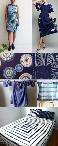 "I was on the West Side in Venice yesterday and had an hour to kill so I decided to fart around and do some ""inspiration shopping,"" as I like to call it. I have always loved indigo dye and yesterday I saw so many great indigo-dyed pieces–my heart was almost exploding–and it pretty much did …"