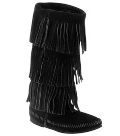 3 Layer Calf High Moccasin Boot