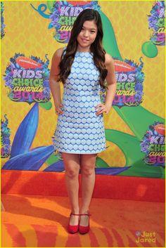 Piper Curda at the Kids Choice Awards 2014
