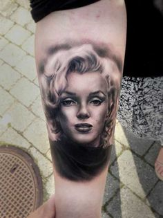 Perfect Marilyn Monroe Tattoo More