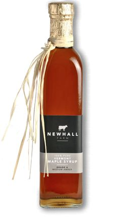 Newhall Farm Pure Vermont Maple Syrup, 500ml bottle