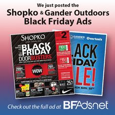 75ff89bb7 We posted the Shopko and the Gander Outdoors Black Friday Ads!  BFAds   BlackFriday2018