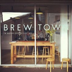 brewtown/filter coffee popup | people's coffee, wellington nz