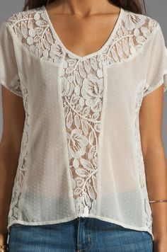 56 Lace Blouses To Not Miss #lace  #blouse  #crochet  #cardigan