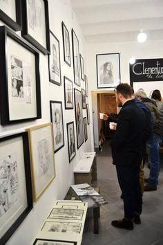 Parete galleria Parione9  Duluoz + Clementucci