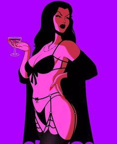 Dark Fantasy Art, Fantasy Girl, Dark Art, Dibujos Pin Up, Vintage Lesbian, Arte Obscura, Goth Art, Hippie Art, Pin Up Art