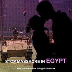 Stop Massacre in Egypt