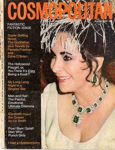 Cosmopolitan magazine, AUGUST 1969 Liz Taylor on cover