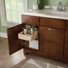 American Classics Casual 36 in. W x 21 in. D x 33.5 in. H Vanity Cabinet Only in Cognac - Home Depot