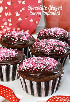 Treat your sweeties to a Valentine's treat that's all about the chocolate! The cocoa batter bakes to a delicious light cake, finished with an incredibly eas