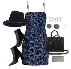 """Untitled #3909"" by theaverageauburn on Polyvore featuring Ray-Ban, Yves Saint Laurent, MANGO, Forever 21, rag & bone and Native Union"