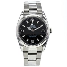 Rolex Explorer automatic-self-wind mens Watch 14270 (Certified Pre-owned) * Click image to review more details.