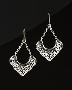 Lois Hill 'Classic' Silver Earring