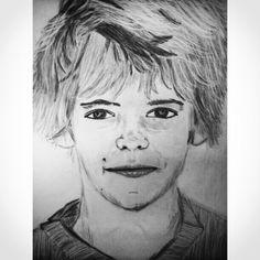 Oskar's portrait.