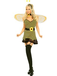 Elegant Moments Honey Bee Costume  Get It On Fancy Dress Superstore, Fancy Dress & Accessories For The Whole Family. http://www.getiton-fancydress.co.uk/adultcostumes/animalcostumes/elegantmomentshoneybeecostume#.UtTFGfu6_oY