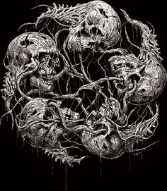 Toshihiro Egawa is an artist, a painter from Japan. He has studied by myself about art. He does mainly Metal/Death Metal/Deathcore cover artwork, shirt design, and doing several arts worldwide since Power Metal, Custom Tattoo, Dark Fantasy Art, Gothic Art, Death Metal, Lion Sculpture, Photoshop, Drawings, Artwork