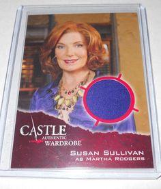 Castle Costume Trading Card Susan Sullivan As Martha Rodgers #M03