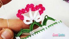 Havlu Kenarı Tığ İşi Fiyonklu Çiçek Modeli Yapılışı Anlatımlı Türkçe Videolu #havlukenarıörnekleri #kadın #çeyizlik #towellace #handtuchspitze #handmade