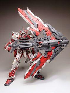 MG 1/100 Gundam Astray Red Frame Kai - Customized Build