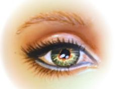 How to repaint doll eyes (nutshell)