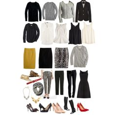 Heavy Rotation Fall Work Capsule Wardrobe