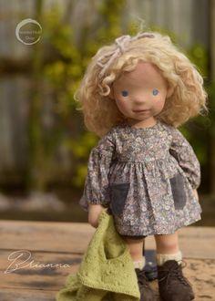 Cute Baby Girl, Cute Babies, Art Dolls, Kids Dolls, Dolls Dolls, Waldorf Toys, Child Doll, Soft Sculpture, Fabric Dolls