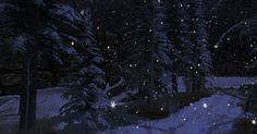 https://flic.kr/p/21fxoA5 | stillness of night | Binemust {A} maps.secondlife.com/secondlife/Binemust/54/109/21  Eventually I'll explore  the rest of this build.  For now, I'm enjoying  the glorious snowy landscape!