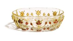 A fine Mughal ruby-set rock crystal bowl, India, 18th Century - Sotheby's