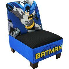 Batman Armless Toddler Chair