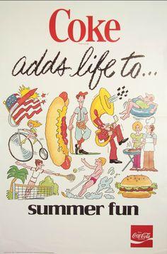 coke adds life to summer fun