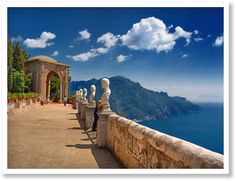 A view with a room  Amalfi kust reis