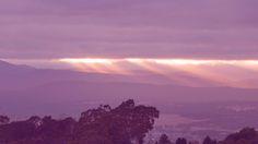 ✣ Sun rays over the Tamar Valley -Tasmania ✣  Photograph © Ellen Vaman www.facebook.com/ellen.vaman1 #EllenVaman #Photography #Tasmania #TamarValley #Launceston #SunRays #Landscapes #Nature #Earth #World #NaturePhotography #discovertasmania #tassiestyle
