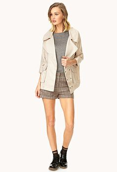 Easy Linen Jacket | FOREVER21 - 2000089899