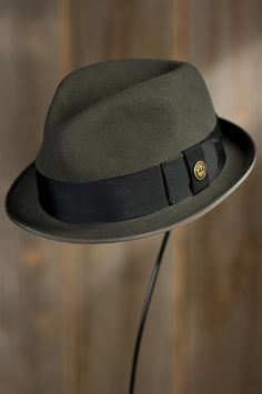 Guido Delgado Goorin Brothers Wool Fedora Hat by Overland Sheepskin Co.  (style 79785) 41568622219