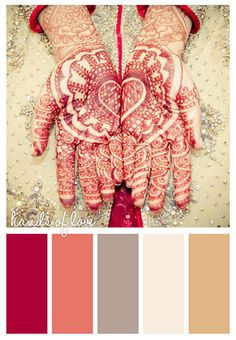 #hands #love #color #scheme #red