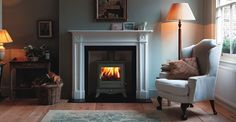 Wood Burning Stove Fireplace Designs, images of fireplaces ...