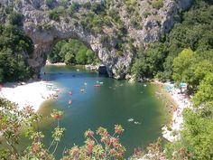 The Ardèche. Climbing, hiking, kayaking, caving, beautiful landscapes, great food and hardly anybody. Perfect!
