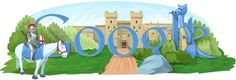 Google Doodle: St George's Day 2010