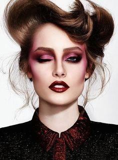 Mujer: Estilo y Belleza: Maquillaje en Rosa 2014