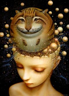 Faith is Torment | Art and Design Blog: Nothing But Perception: Paintings by Naoto Hattori
