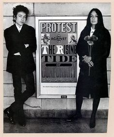 Bob Dylan and Joan Baez, 1964