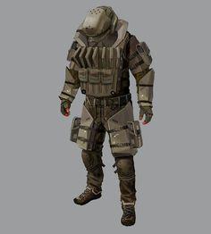 Belltower Heavy Soldier from Deus Ex: Human Revolution