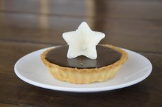 Chocolate & passion fruit tart at Bayon Pastry School, Siem Reap Cambodia