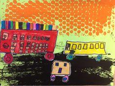 Mrs. Knights Smartest Artists: printmaking